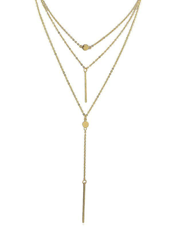 Cheap Pendant Layered Chain Necklace
