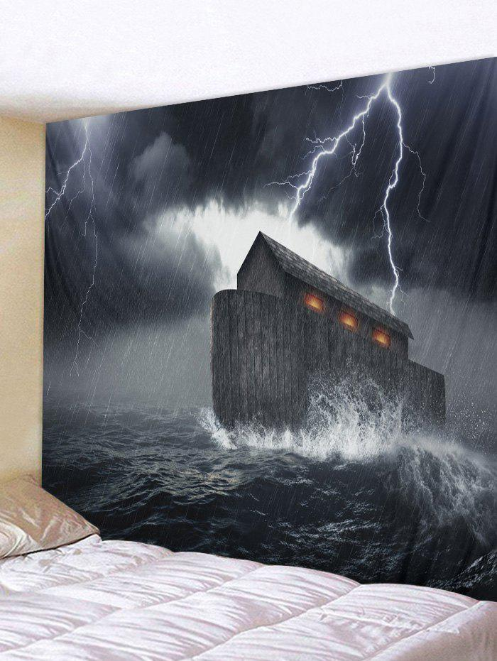 Online Cool Storm Printed Wall Tapestry Hanging Decoration
