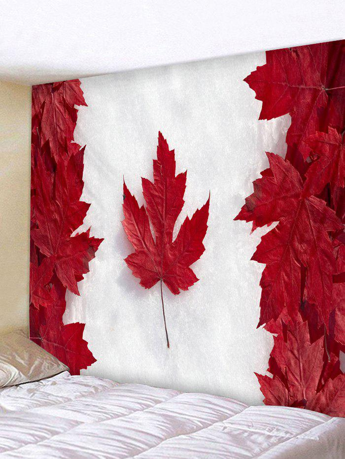 Best Canada Maple Leaf Print Wall Tapestry Hanging Decor