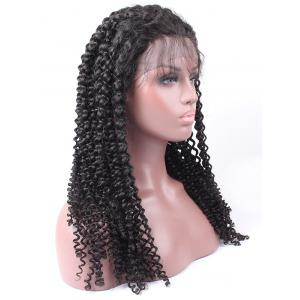 Free Part Long Curly Synthetic Lace Front Wig -
