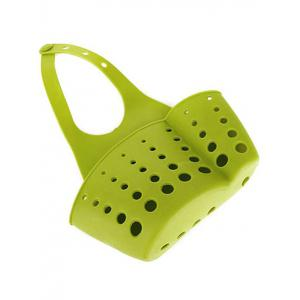 Adjustable Hanging Button Kitchen Tool Storage Bag -