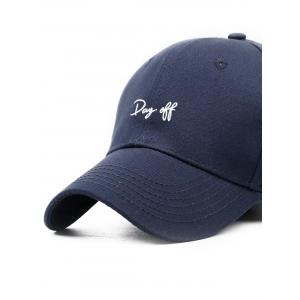 Day Off Broderie réglable Baseball Hat -