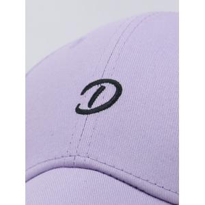 Unique Letter D Decorative Baseball Cap -