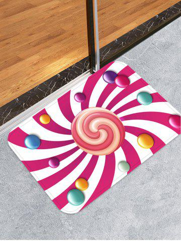 Affordable Lollipop Pattern Water Absorption Area Rug