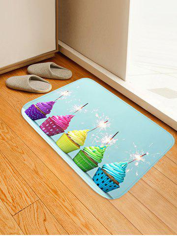 Discount Cake Firework Pattern Water Absorption Area Rug