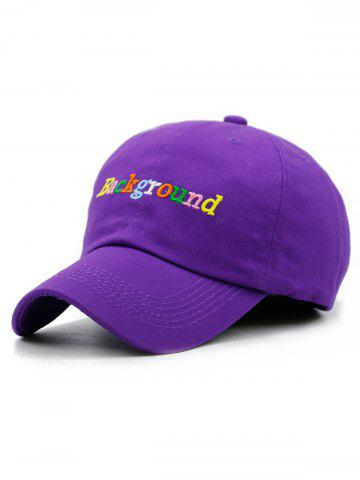 Affordable Colored Background Embroidery Baseball Cap