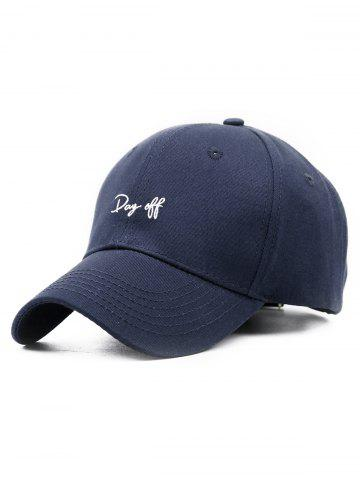 Day Off Broderie réglable Baseball Hat