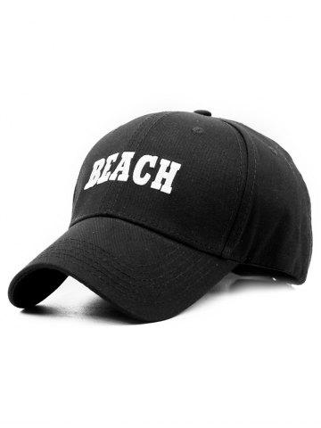 Trendy Outdoor BEACH Embroidery Baseball Cap