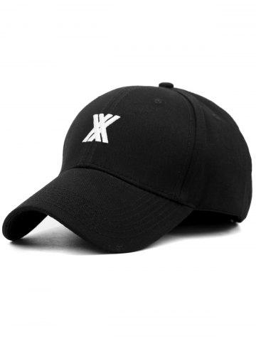 Stylish XX Embroidery Adjustable Graphic Hat