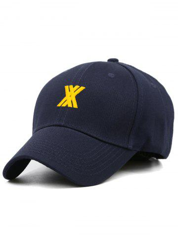 Fancy Stylish XX Embroidery Adjustable Graphic Hat