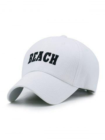 Chic Outdoor BEACH Embroidery Baseball Cap