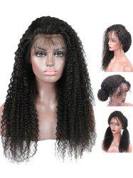 Free Part Long Curly Lace Front Synthetic Wig -