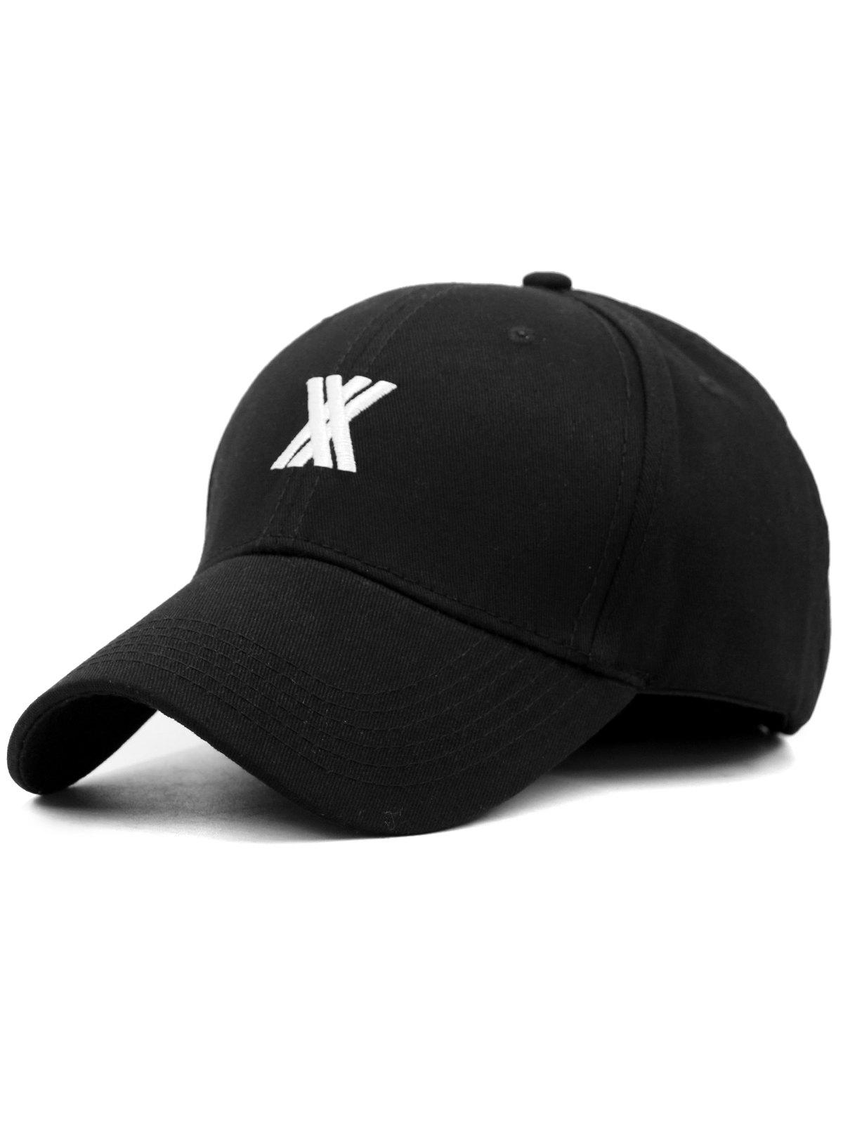 Outfits Stylish XX Embroidery Adjustable Graphic Hat