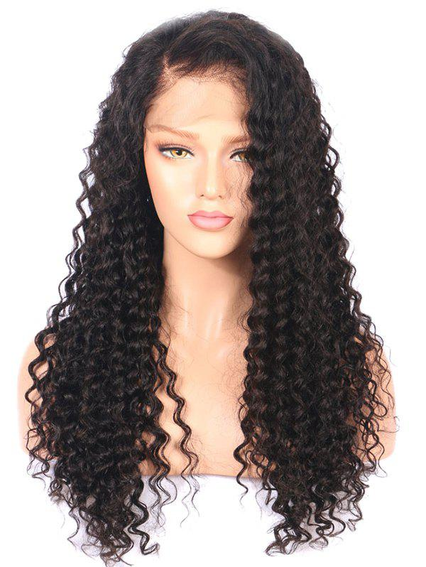 Fancy Long Free Part Curly Synthetic Lace Front Wig