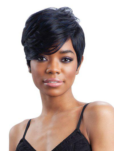 Sale Short Side Bang Straight Colormix Synthetic Wig