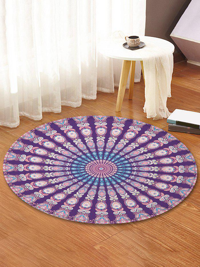 Latest Peacock Feather Pattern Decorative Floor Rugs