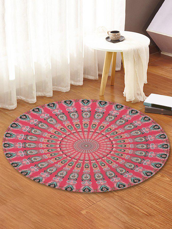 New Peacock Feather Pattern Decorative Floor Rugs