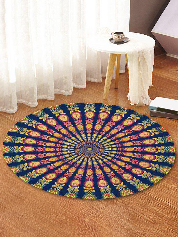 Shop Peacock Feather Pattern Decorative Floor Rugs