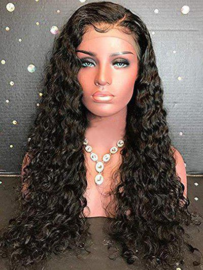 Affordable Long Side Parting Curly Lace Front Synthetic Wig