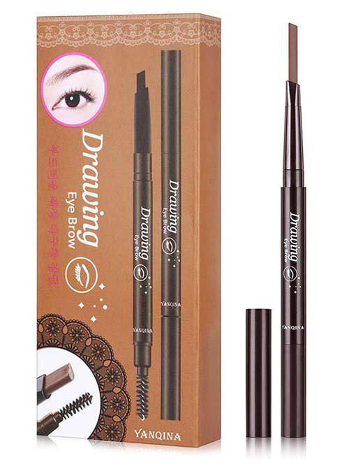 Affordable Beauty Double Ended Long Lasting Waterproof Rotate Eyebrow Pencil