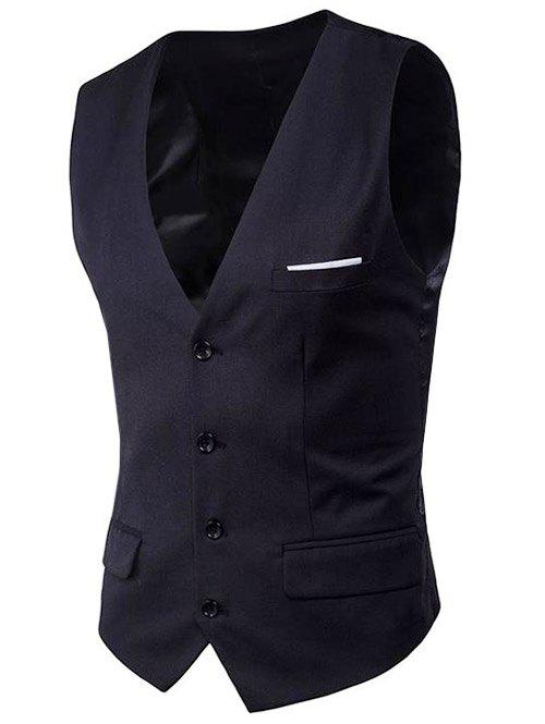 Shops Modern Solid Color Fit Suit Separates Vest