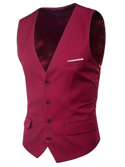 Shop Modern Solid Color Fit Suit Separates Vest