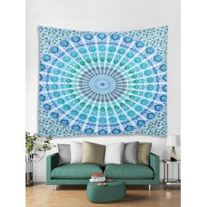 Boho Style Peacock Feather Print Wall Hanging Tapestry -