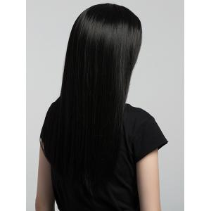 Long Center Parting Straight Synthetic Wig -