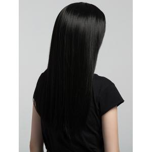 Long Middle Part Straight Synthetic Wig -