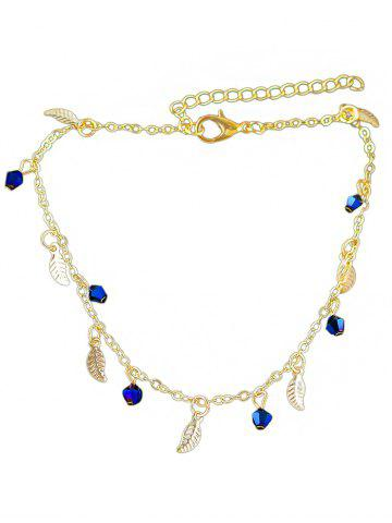 New Leaves Designed Artificial Diamond Chain Anklet