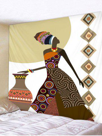 Buy Native Girl Print Wall Tapestry Hanging Art