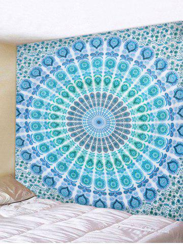 New Boho Style Peacock Feather Print Wall Hanging Tapestry