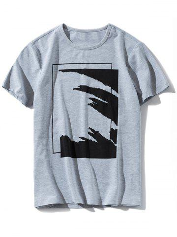 Sale Casual Round Neck Graphic T-shirt