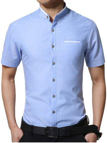 Fancy Casual Solid Color Short Sleeve T-shirt