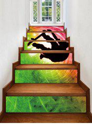 Cool Print Decorative Stair Stickers -