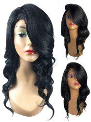 Long Side Parting Wavy Heat Resistant Synthetic Wig -