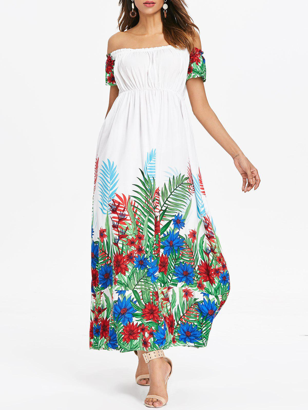 Outfits Bohemian Off Shoulder Long Dress