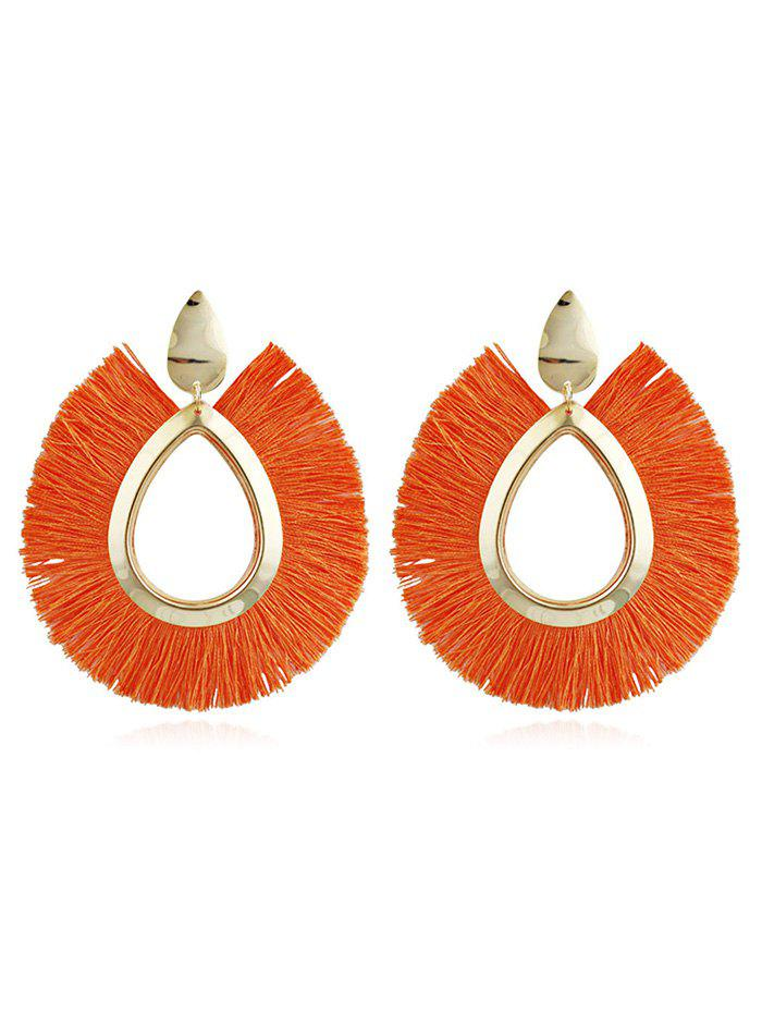 Trendy Unique Alloy Geometric Fringed Earrings