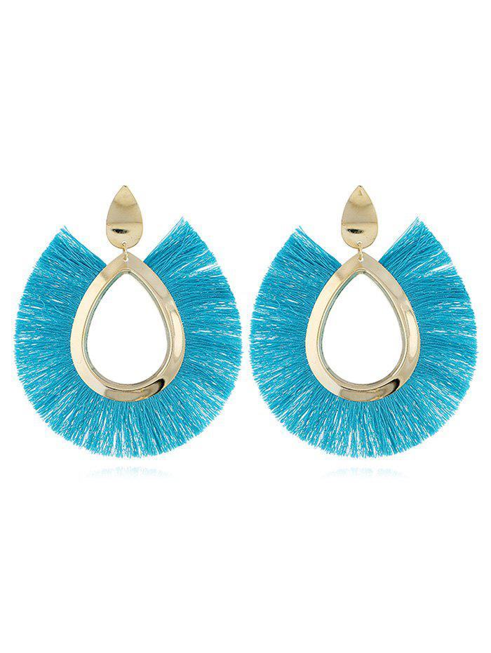 Discount Unique Alloy Geometric Fringed Earrings