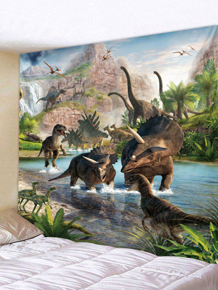 Best Different Dinosaurs Print Hanging Tapestry