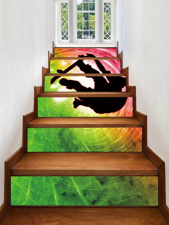 Latest Cool Print Decorative Stair Stickers