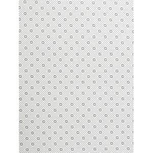 Butterfly Letter Pattern Water Absorption Area Rug -