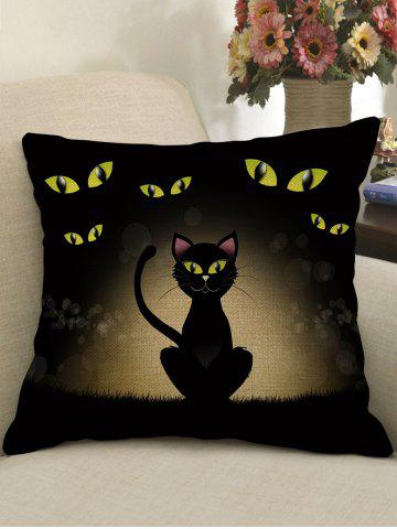 Store Halloween Cat Printed Pillow Case
