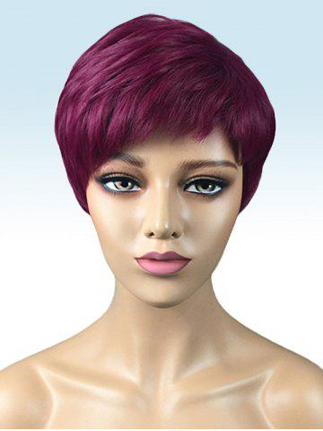 Shops Short Side Bang Layer Straight Synthetic Wig