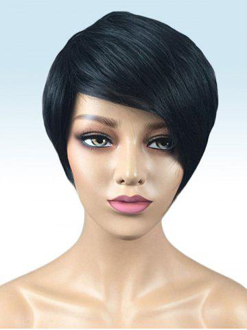 Online Short Side Bang Straight Synthetic Wig