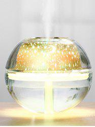 USB Ombre Color Starry Sky Projection Lamp Humidifier -