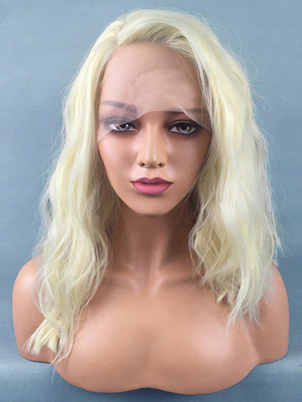 Outfit Medium Side Bang Natural Wavy Synthetic Lace Front Wig
