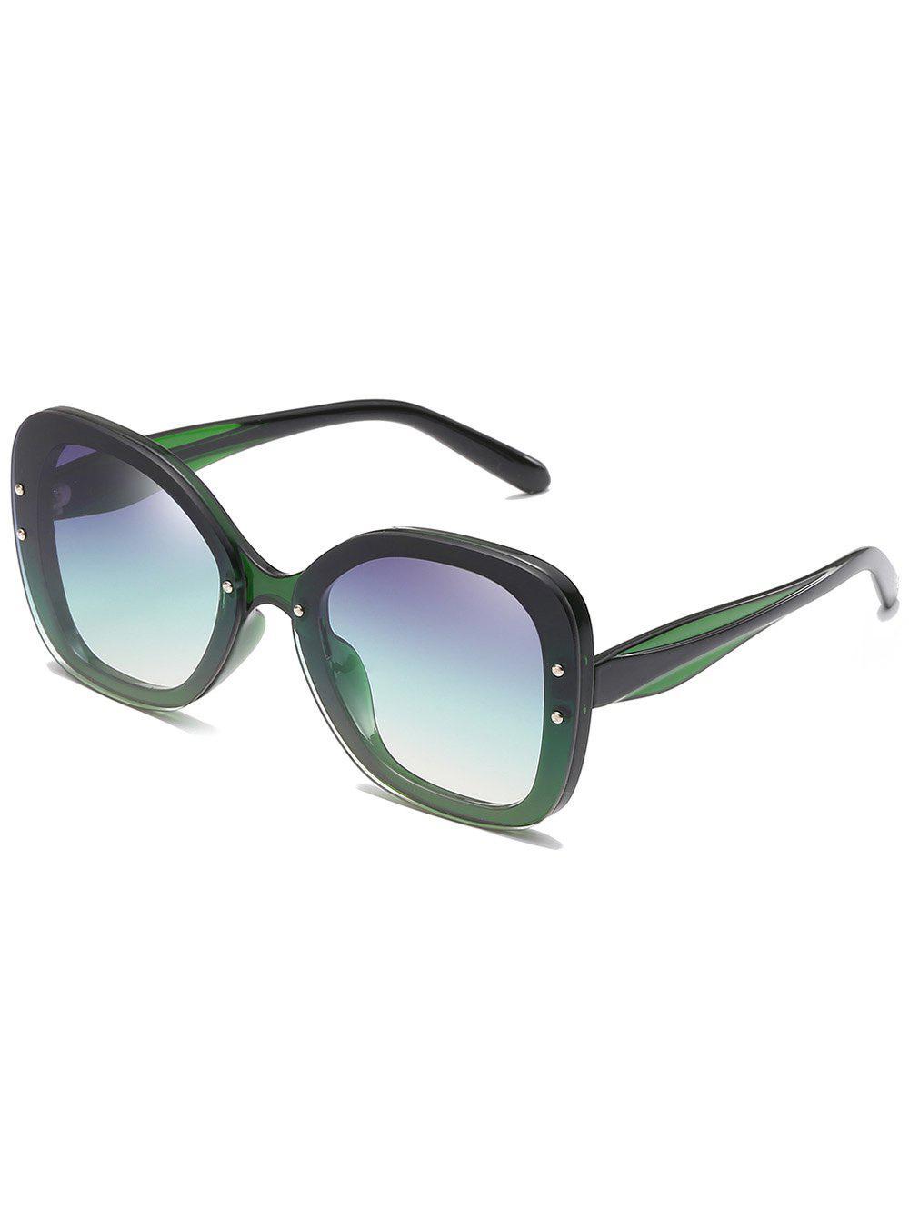 Store Unique Full Frame Rivets Oversized Sunglasses