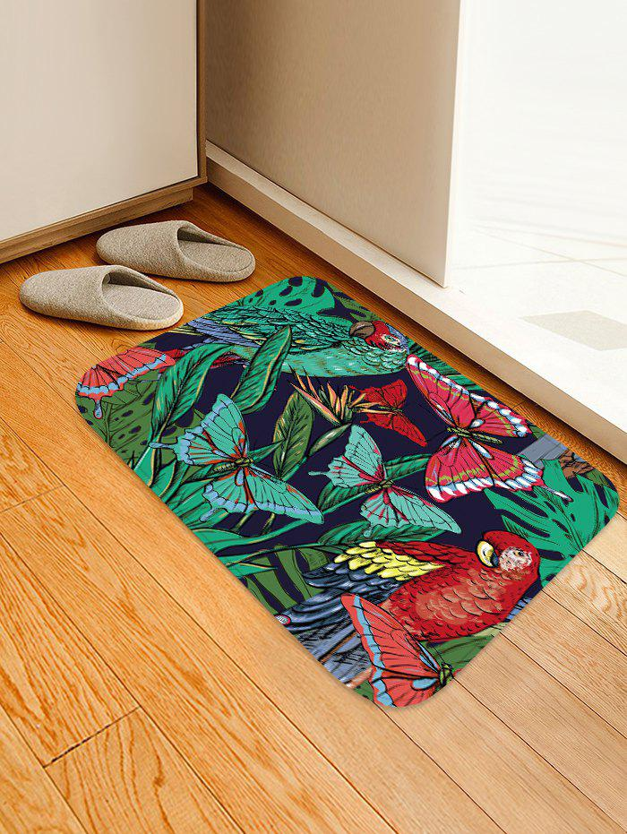 Best Butterfly and Bird Pattern Water Absorption Area Rug