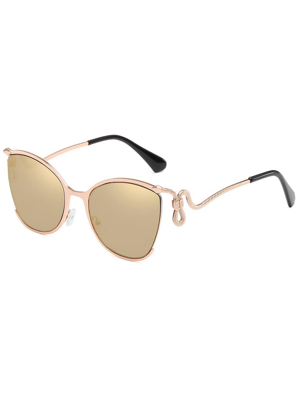 Buy Unique Half Frame Bent Legs Sunglasses
